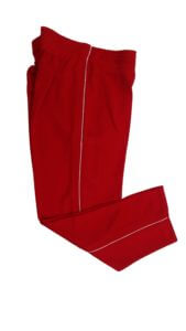 Red Sports Track Pant