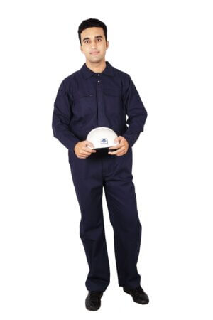 Industrial Coverall- Navy Blue